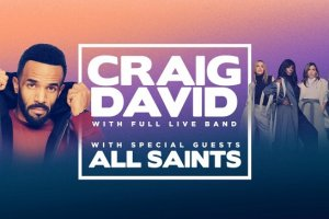 Craig David and All Saints Photo From The Star Gold Coast